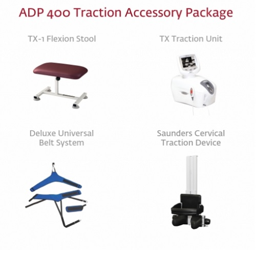 Chattanooga TTET 200 Traction Table Accessory Package 6876-1
